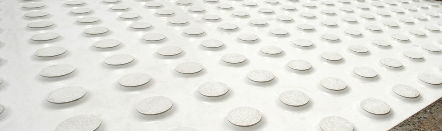 Image of GripGuard's Cobbletac Tactile Indicators available from www.gripACTion.com.au