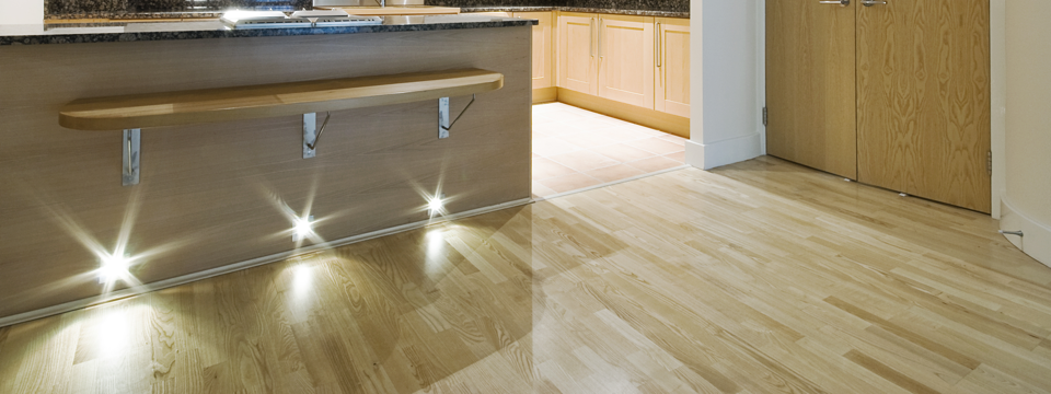 Image of Timber Kitchen floor at www.gripaction.com.au