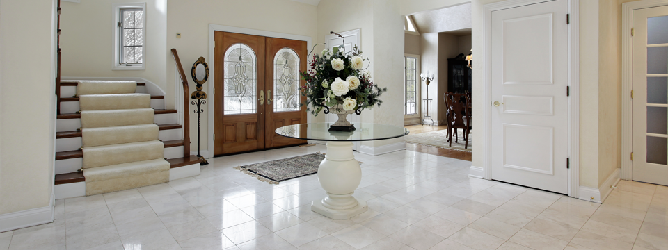 Image of tiled house foyer at gripACTion.com.au