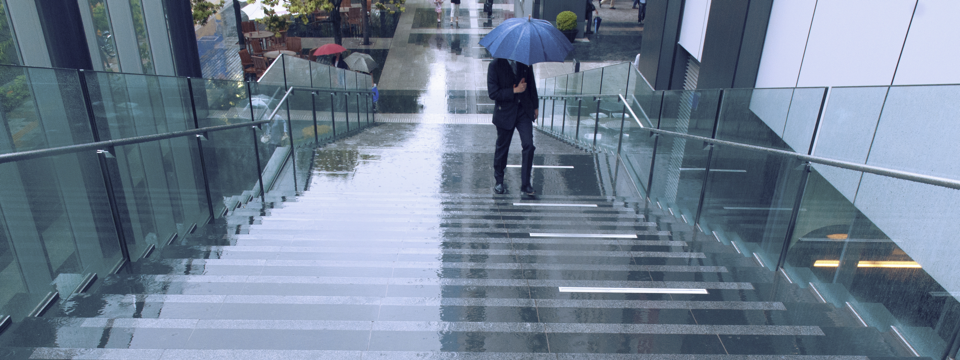 Image of wet outside stairs at gripACTion.com.au