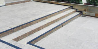 Stairs with grip at the War Memorial – Testimonial