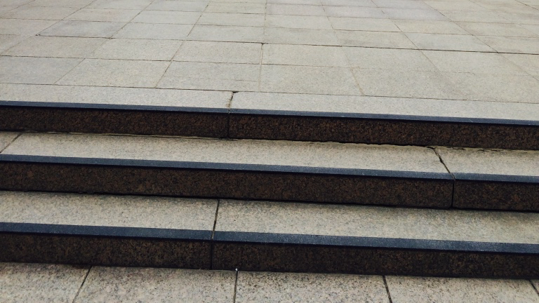 Close up of the Stair Nosing at the Australia War Memorial - gripACTion