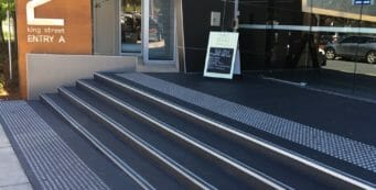 Anti-Slip Sealer and Paint reduces slipping