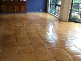 New sealer brings tired old tiles to life.